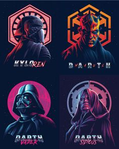 Trending Colors digital art - Star Wars Poster - Ideas of Star Wars Poster - - Darth Star wars Best Creative design Illustration. Trending Colors digital art top graphic Inspiration 2019 by Alekseyrico Star Wars Trivia, Star Wars Logos, Star Wars Facts, Star Wars Tattoo, Star Wars Poster, Star Wars Humor, Star Wars Sith, Star Wars Padme, Clone Wars