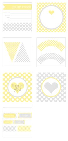 Free 'Sunshine' printables from Pottery Barn Kids (tags, labels, invitations, cupcake wrappers, cake flags...) #DIY #Party http://www.potterybarnkids.com/design-studio/invitations/sunshine_templates.html#