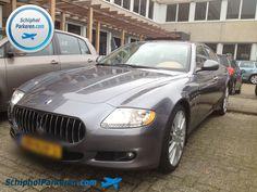 Schiphol Parkeren. Ook voor uw Maserati. Snel, vertrouwd en goedkoop parkeren bij Schiphol. Check: http://www.schipholparkeren.com