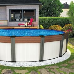 Piscine on pinterest piscine hors sol pools and above for Club piscine above ground pools prices