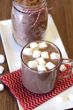 Nothing like a cup of homemade hot cocoa. Chocolatey, warm and oh so good on a cold winter day! I always seem to crave hot cocoa more around the holidays. Maybe it's the weather, maybe it&#82…