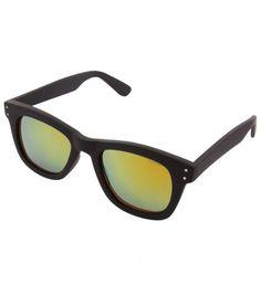 Komono Allen Black and Gold Unisex Sunglasses KOM-S1421 Sunglasses, Unisex,  Gold, 6ba9fb21581e