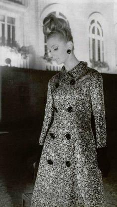 1961 House of Dior.evening dress coat