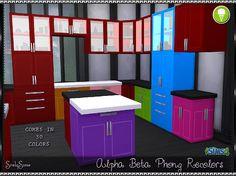 SrslySims   Alpha Beta Phong Cabinets & Counters