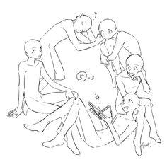 トレス可】環状構図集 [27]