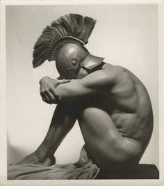 Flandrin pose photo (Unidentified photography)