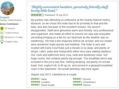More than 400 Uncensored Customer #reviews including the good and the bad. Well most of the reviews are great. These reviews are customer testimonials expressing their feelings about their stay with Amsterdam Hotel London.  We use independent review site #Tripadvisor to gather genuine customer reviews. So Take a look here and let our guest reviews help you find the perfect. #amsterdamhotellondon