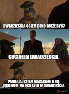 Nie jestem jubilerem. Best Memes, Star Wars, Humor, Funny, Movie Posters, Pictures, Historia, Deco, Photos