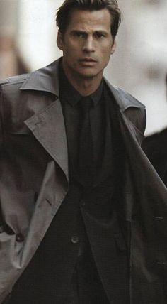 Mark Vanderloo aka Commander Shepard face model