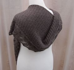Ravelry: Fallen Leaves pattern by Sue Lazenby  2% discount until 2 March (M/N GMT) sideways knit shawl or scarf in 2 depths customisable for amounts and thickness for sports weight or thicker. Lace and textured pattern with i-cord edge (instructions given).