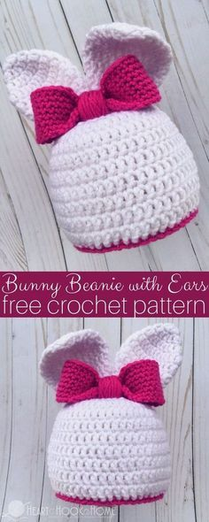 Knit Baby Bunny Hat Pattern Free Crochet Bunny Hat Pattern Newborn Toddler Make Do Crew. Knit Baby Bunny Hat Pattern Free Crochet Bunny Hat Pattern Newborn Toddler Make Do Crew. Knit Baby Bunny Hat Pattern 10 Free Knitting Patterns For… Continue Reading → Crochet Beanie, Knit Crochet, Crochet Rabbit, Booties Crochet, Crochet Funny Hat, Crocheted Hats, Crochet Stitches, Crochet Crafts, Crochet Projects