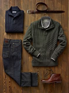 Tom James Custom Clothing - Casual Fall 2014