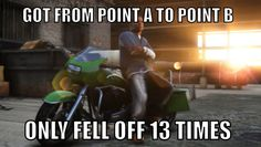 Motorcycle Problems #GTA