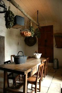 Old World Inspiration! Rustic Kitchen Space with Great Decor Ideas! See more at thefrenchinspiredroom.com