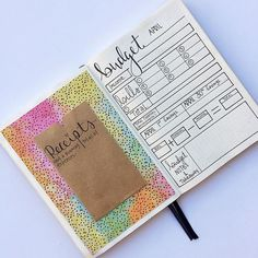 12 Bullet Journal Hacks That You Need To See! Bullet journal hacks that actually work. Super simple ideas that you can DIY. Track your habits, become better with time management with washi tape, stickers and markers. The best inspiration that is nifty and Bullet Journal Expense Tracker, Bullet Journal Hacks, Bullet Journal Ideas Pages, Bullet Journal Layout, Journal Pages, Journal List, Life Journal, Junk Journal, Bellet Journal