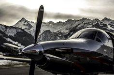 The beautiful Pilatus PC-12