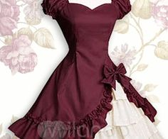 Found a Lolita dress exactly like this at Salvation Army