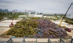 Chinese bike share graveyard a monument to industry's 'arrogance'