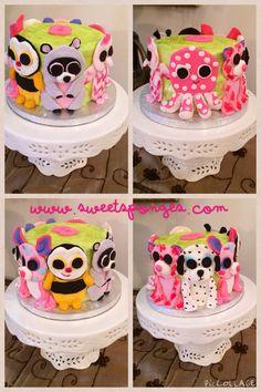 5th Birthday Party Ideas, 12th Birthday, Birthday Cake Girls, Birthday Parties, Unicorn Birthday, Beanie Boo Party, Beanie Boos, Beanie Babies, Cupcakes