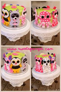 Beanie boos cake www.sweetsponges.com