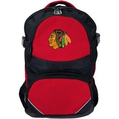 NHL Chicago Blackhawks Fusion Backpack, Red