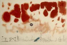 Paul Klee - Gewoelk ueber Bor, 1928.