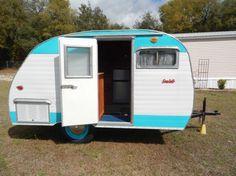1960 Serro Scotty Sportsman For Sale Vintage Campers For Sale, Retro Campers, Cool Campers, Rv Campers, Travel Trailers For Sale, Vintage Travel Trailers, Camper Trailers, Go Camping