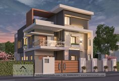 Flat House Design, House Outside Design, Village House Design, Bungalow House Design, Unique House Design, House Front Design, Architect Design House, Modern Bungalow Exterior, House Plans Mansion