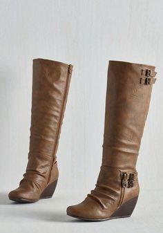 Coffee Crew Boots