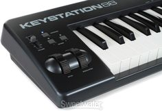 M-Audio Keystation 88 88-key MIDI Controller | Sweetwater.com