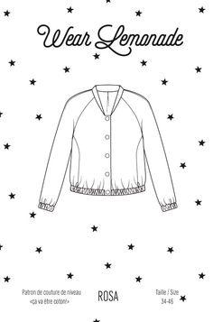 Patron de couture Rosa - PDF http://www.wearlemonade.com/fr/patrons/87-patron-de-couture-rosa-pdf.html
