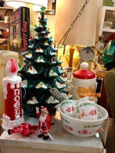 1950's Vintage Christmas Decorations - $48