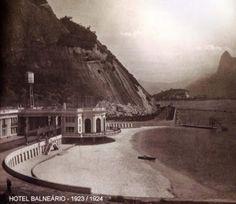 Rio de Janeiro Antigo: Urca: Hotel Balneário - fotos do Rio antigo