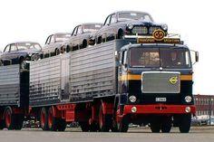 Volvo car transport.