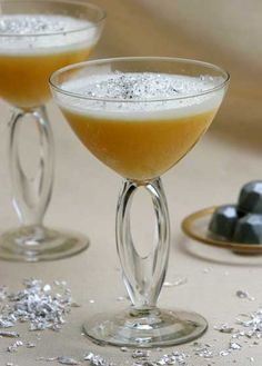 Caribbean Snowflake A delightful winter cocktail that is a magical and extremely unique cross between an eggnog and a classic rum punch.