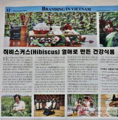 Vietnam Korea News – Tờ tạp chí Hàn Quốc số ra ngày 18/2/2014 đã cung cấp tới độc giả công dụng cũng như các sản phẩm từ Hibiscus. http://thaomoc.com.vn/tin-tuc/item/586-tap-chi-han-quoc-dua-thong-tin-ve-cac-san-pham-hibiscus