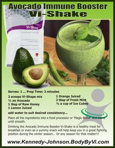 DELISHIOUS & NUTRITIONAL Fast Food in a Glass!!!   ... EASY ~ AFFORDABLE ~ CONVENIENT!!!  www.DebraKJ.BodyByVi.com