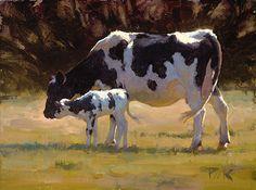 June Gift by carol peek  Oil ~ 6 x 8