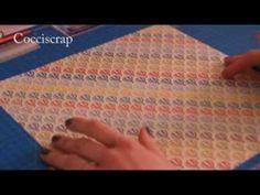 Due album mini in 10 minuti - Scrapbooking Tutorial Album Photo Original, Mini Albums Scrapbook, Scrapbooking, Youtube, Album Photos, Origami, Decoration, Decorated Notebooks, Art Journals