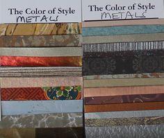 Detail of my Zyla Gamine Autumn metals & patterns. Elizabeth S