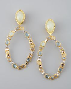 Who wants to buy these for me?     Siyabona Multi-Stone Clip Earrings by Alexis Bittar at Neiman Marcus.