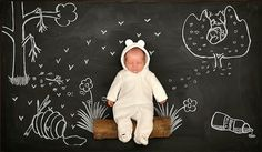 creative newborn boy photography - Google Search
