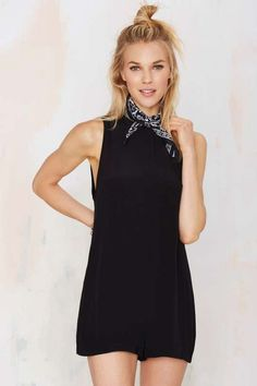 Nasty Gal Ramble On Crepe Romper - What's New