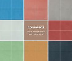 Baldosas hidraulicas, #colores #pisos de cemento #Conipisos #azulejos #tiles #concrete #losas #interiordesignideas #casa #house #colortrends House, Home, Tiles, Tiles, Mosaics, Cement Floors, Colors, Haus, Homes