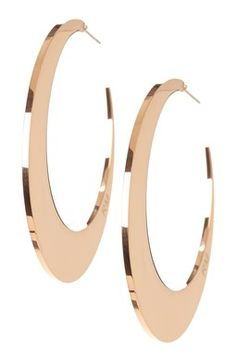 Flat Hoop Earrings