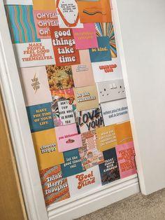DIY wall collage - All About Decoration Bedroom Wall Collage, Photo Wall Collage, Picture Wall, Collage Collage, Collage Pictures, Picture Collages, Dorm Walls, Dorm Room, Bedroom Photos
