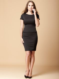 "A pencil skirt is a great way to flatter an hourglass figure - if your waist is smaller than your hips. It will show off your figure without making you look ""top-heavy"" Our Mini Skirt Cayenne is available here: http://dd-atelier.com/Mini-Skirt-Cayenne.html"