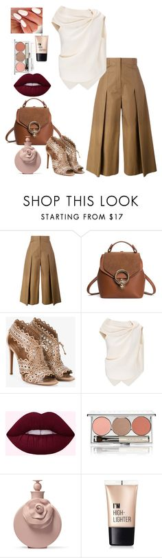 """""""#outfit #fashion #clothes #موضه #فساتين#ازياء#ترند#فاشن"""" by ladypeacful ❤ liked on Polyvore featuring Fendi, Alaïa, Roland Mouret, Chantecaille and Charlotte Russe"""