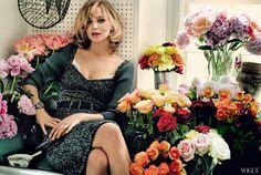 """Jennifer Lawrence é a garota da capa da edição de setembro da """"Vogue"""" América!"""