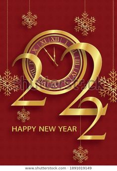 Anul Nou, Happy New Year Wallpaper, Vectors, Festive, Royalty Free Stock Photos, Xmas, Clock, Illustrations, Pictures